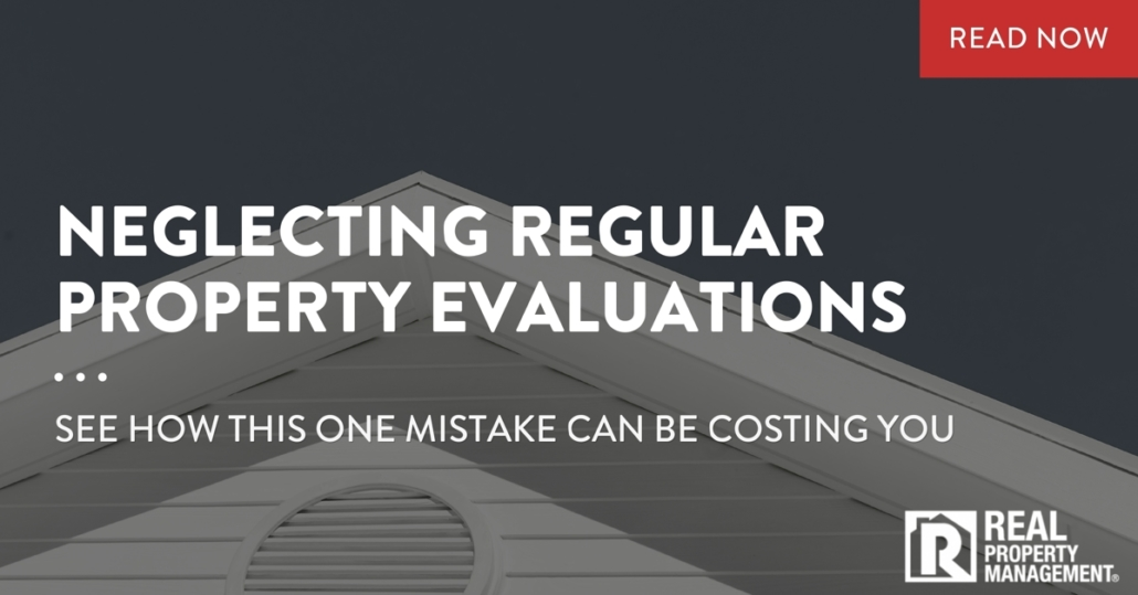 neglecting regular property evaluations