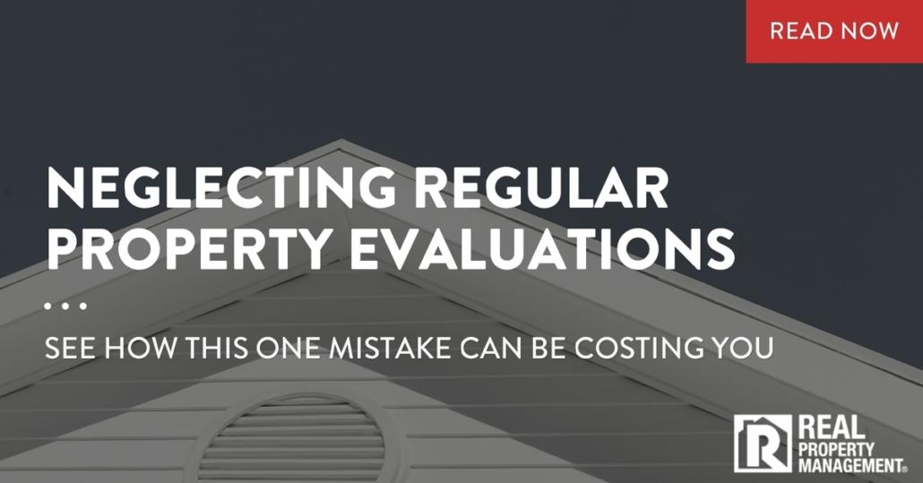 neglecting regular property evaluations