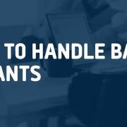 how to handle bad tenants
